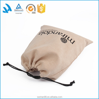 Short sample time suede dust cover bag for leather handbag packaging