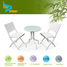 JD-209 Poly Rattan Garden Furniture Table And Chairs Outdoor Furniture Popular In Office Building