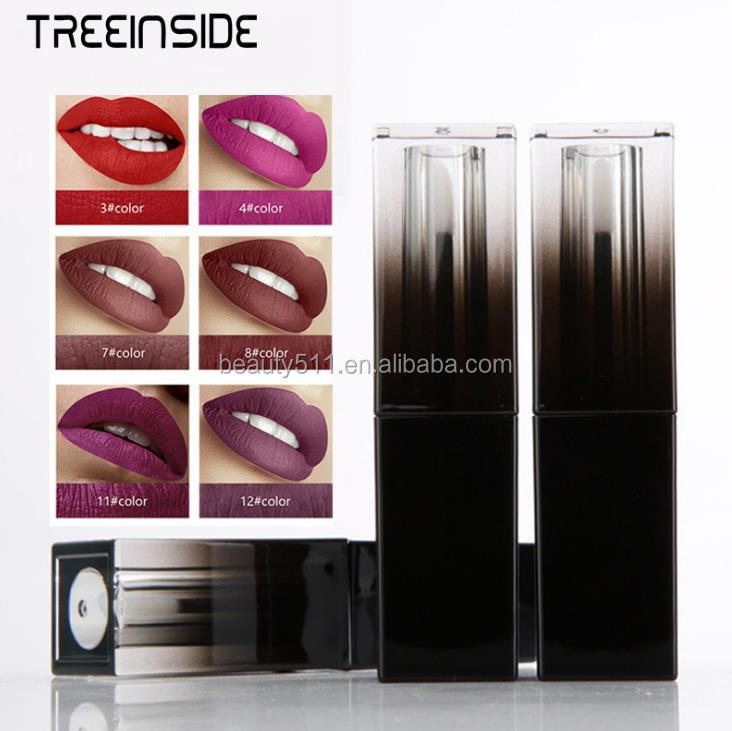 New style 30colors Long lasting Waterproof Square Lip gloss/Liquid lipstick K01