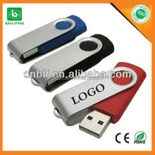 low cost mini usb flash drives swivel