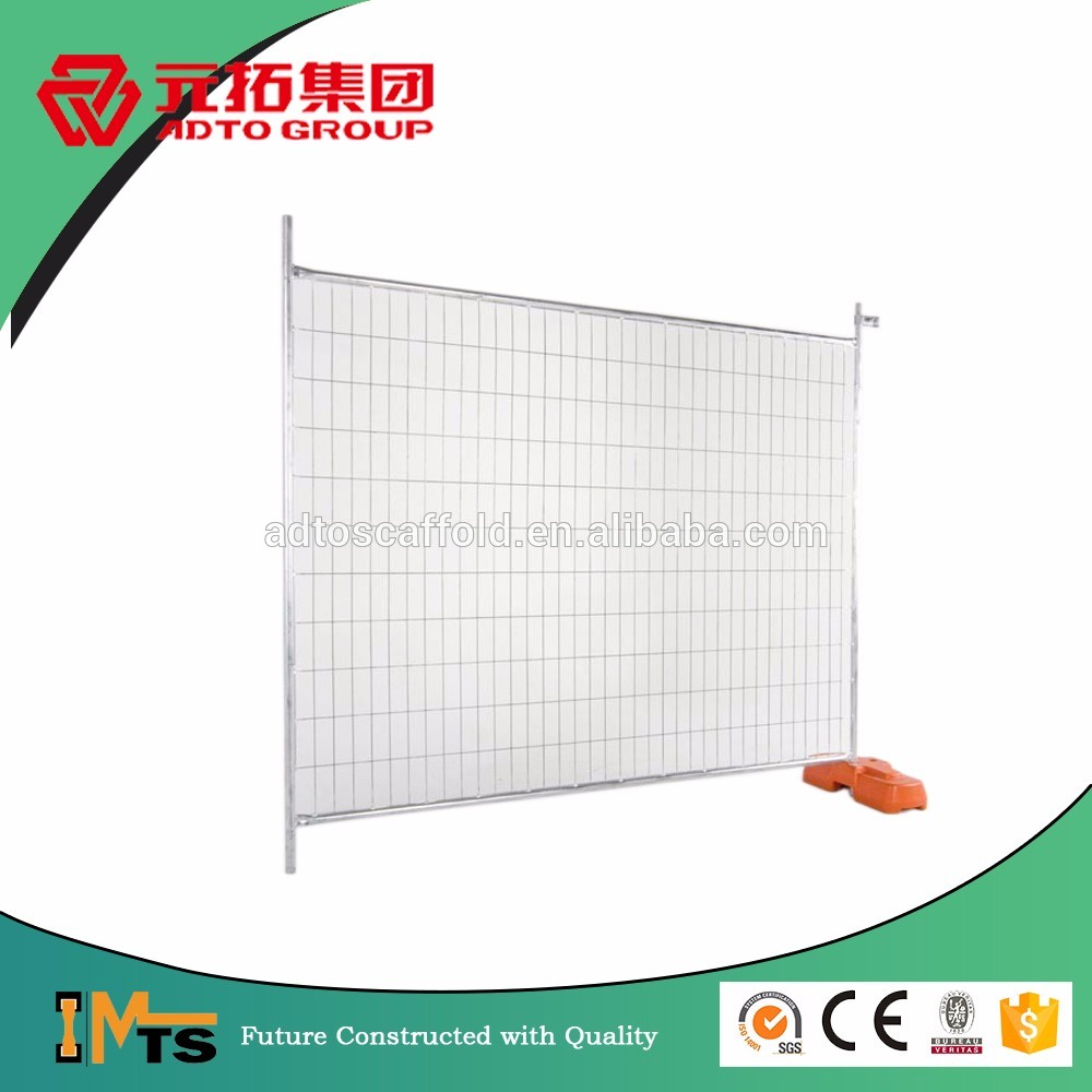 Hot Dipped Galvanized Painted Temp Wire Mesh Fencing