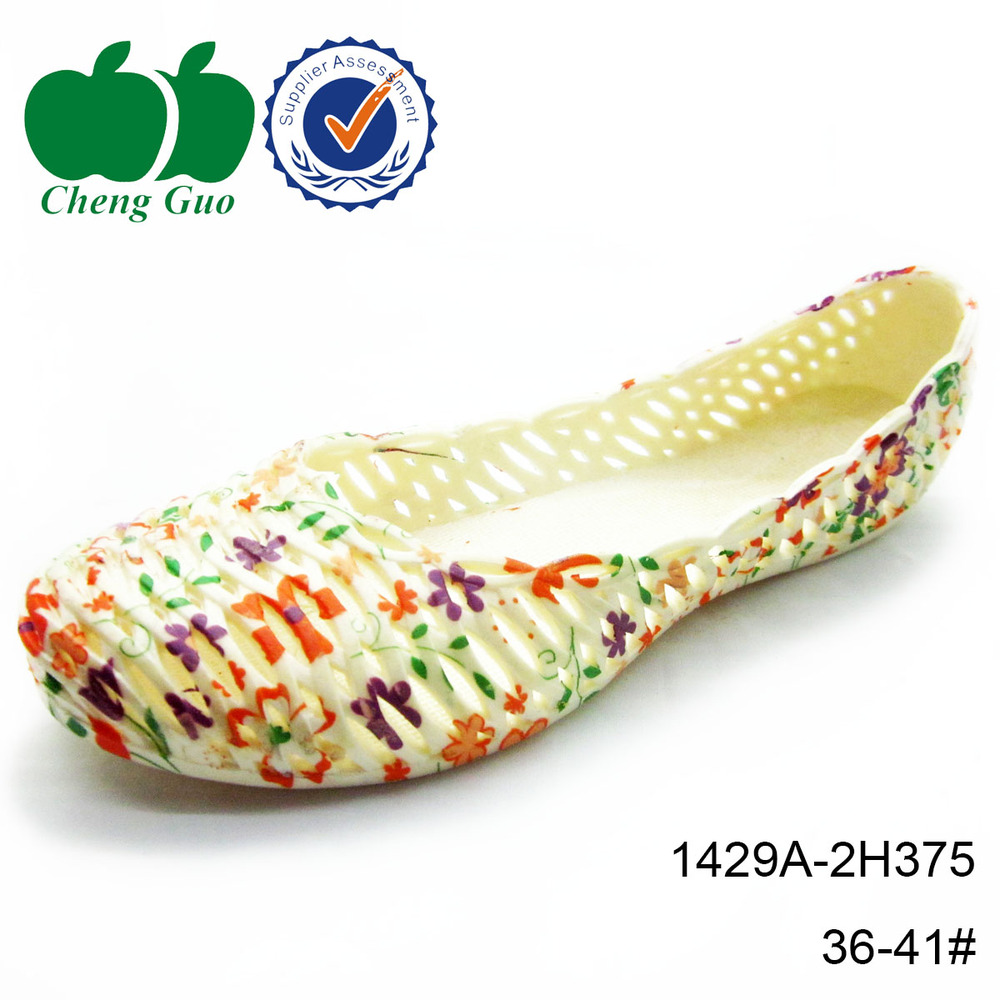 2015 new model wholesale fashion women printed casual shoes