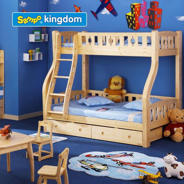 kids jeep car bed with ladder#SP-C201