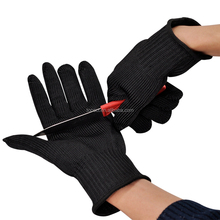 Free Shipping One Pair Stainless Steel Wire <strong>Safety</strong> Gloves Butcher Anti-cutting Work Protective Gloves Cut-resistant