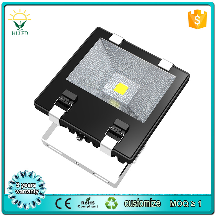 CE ROHS Approval Energy Conservation Most Powerful Flood Light Fixture