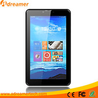 Adreamer 7 inch Quad core dual-camera 1024*600px IPS screen 3G Phone call tablet pc