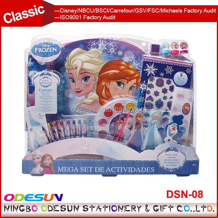 Disney Universal NBCU FAMA BSCI GSV Carrefour Factory Audit Manufacturer School Supplies Festival Gift stationery set
