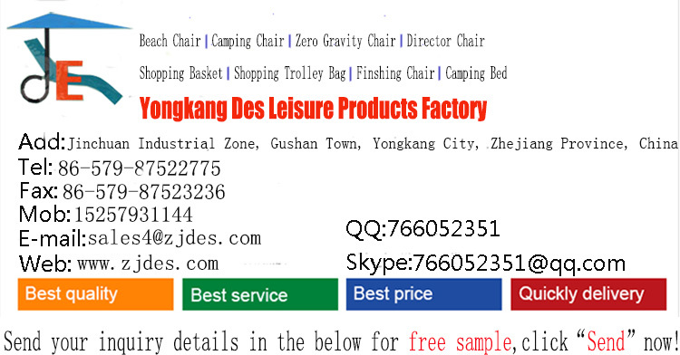 Best price aluminum folding shopping basket with heat preservation from Chinese Factory