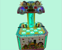 Beat Mouse hit hammer lottery ticket game machine