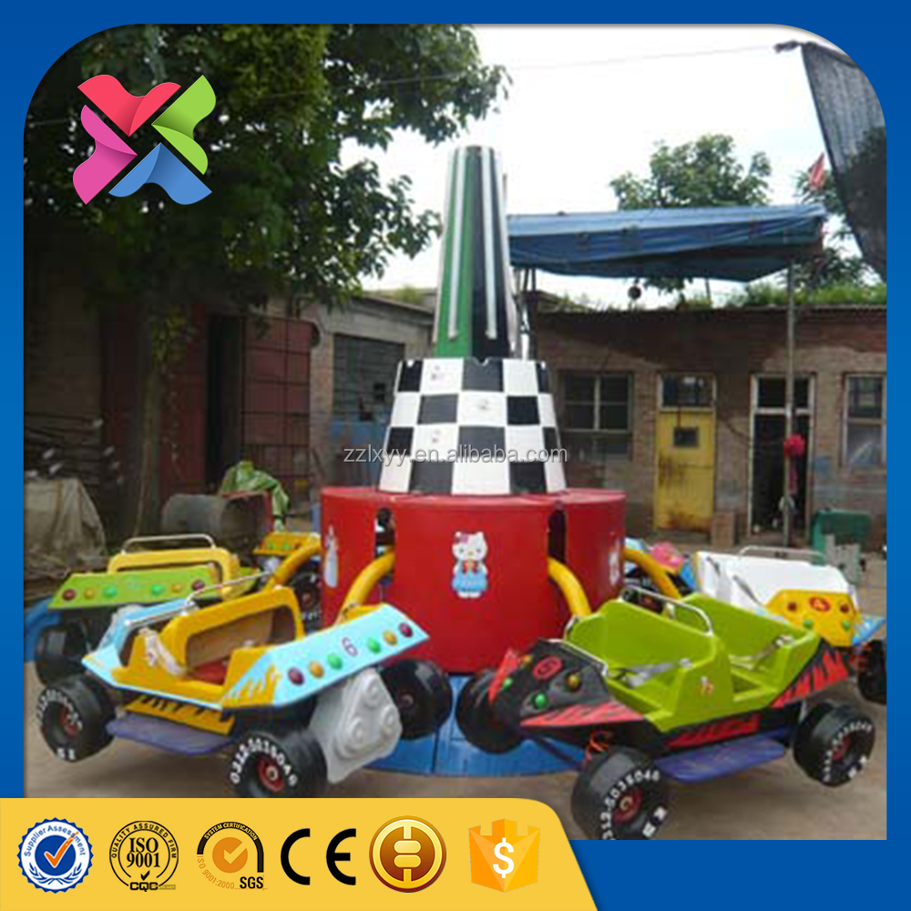 kids play park equipment fun fair rides crazy jumping car rides for kids for sale