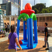 0.99 mm strong PVC material Hot hoops basketball game, folding basketball game, Monster Basketball
