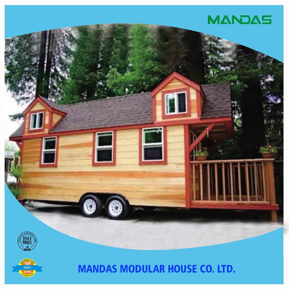 Mini Mobile Homes Decorative Small Prefab Tiny Houses For