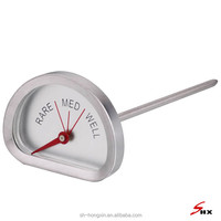 The Simple Design Thermometer for Beef Cooking in Different Level