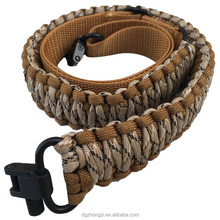 Air gun hunting sling 550 pounds of hand-made by the rope gun belt
