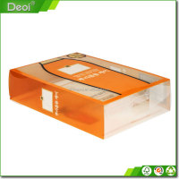 Custom picture shampoo pvc material packing box