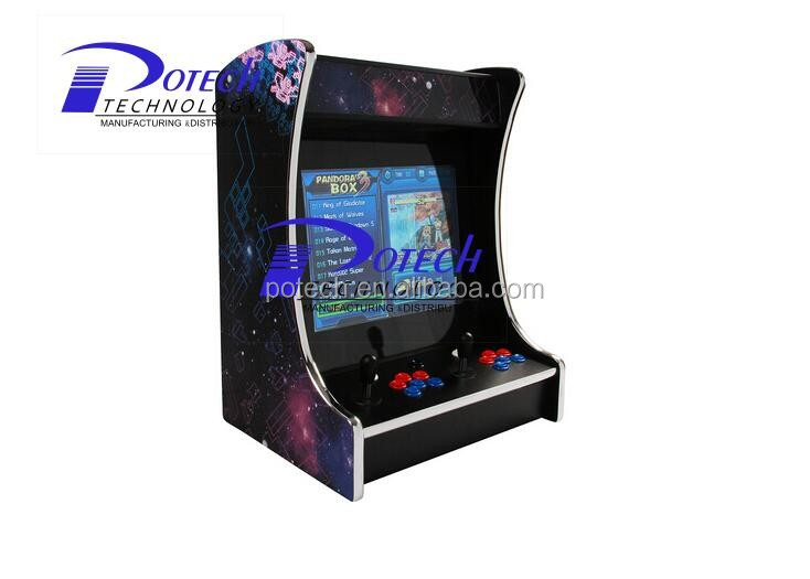 bartop console cabinet arcade game machine for sale