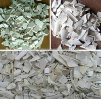 cheap price per ton pvc recycle plastic scrap for fence