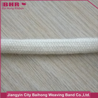 6mm cotton braided compound rope for clothes