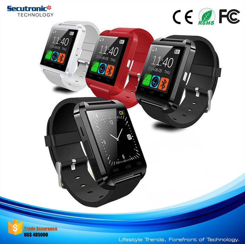 2016 Best China Wholesale Big Promotion U8 Smart Watch for Android Smart Phone Free Shipping To Africa