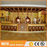 Red Copper Beer Brewery Equipment Hot