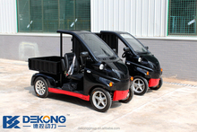 Popular 60V small electric mini delivery vans for sale