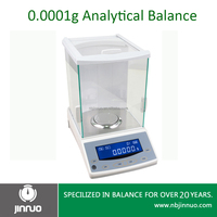 jinnuo balance 100g 0.0001g 0.1mg high precision magnetic electronic analytical balance
