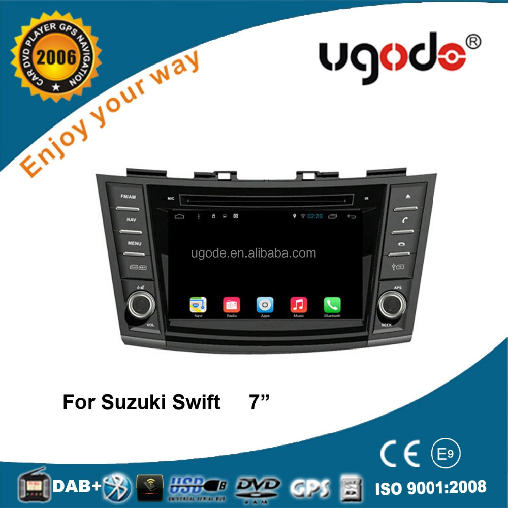 ugode high quality wholesale car dvd suzuki swift car kit bluetooth mp3 player