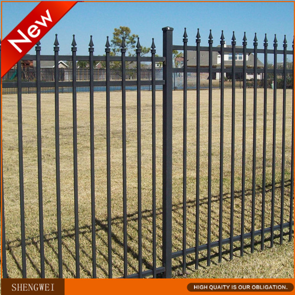 Cheap decorative garden border fence panels