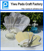 Promotional Spa Bath Exfoliating Natural Loofah Gloves