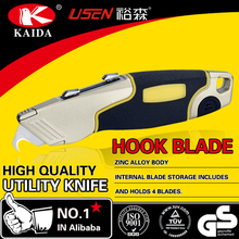 Tool Cutter Trapezoid blade Zinc alloy Twin Blade Utility Cutter