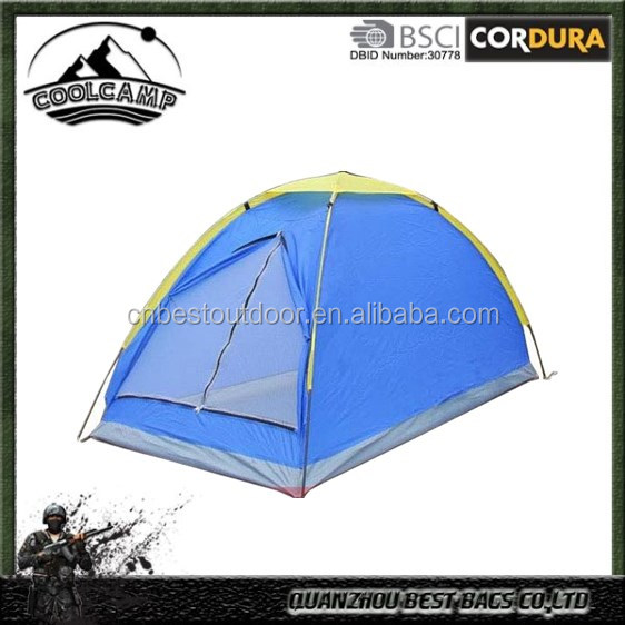 170 Polyester Tape Waterproof Tent, 1 Person Four Seasons Camping Tent, One Person outdoor tents