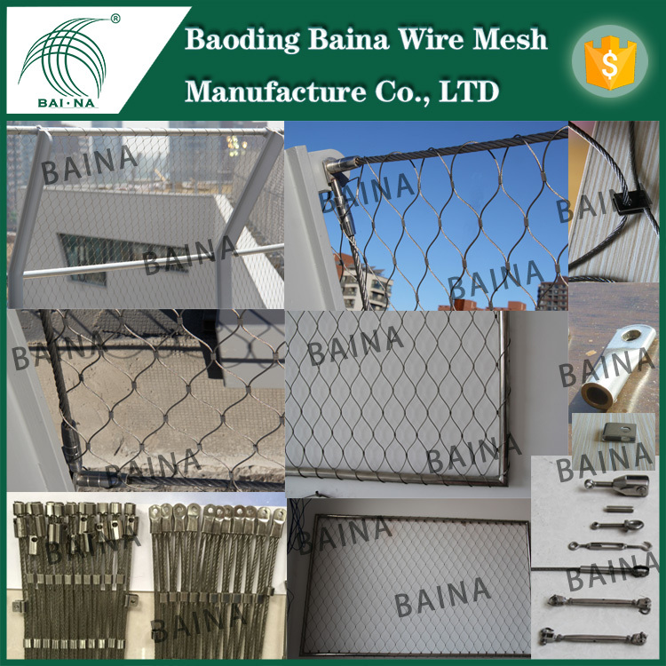 Stainless Steel Fishing Nets Factory