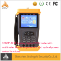 1080P AHD and Analog Hybrid Security CCTV Tester with Multimeter Function and Optical Power mete