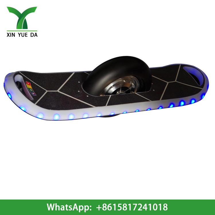 single wheel electric scooter 2016 new hoverboard with led lights