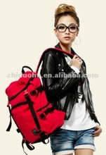2012 new fashionable leather lady backpack