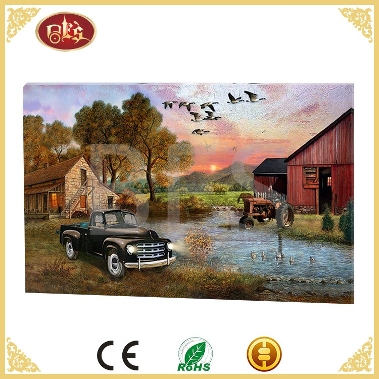 Home Interiors Decor Wholesale China Abstract famous thomas Canvas Painting
