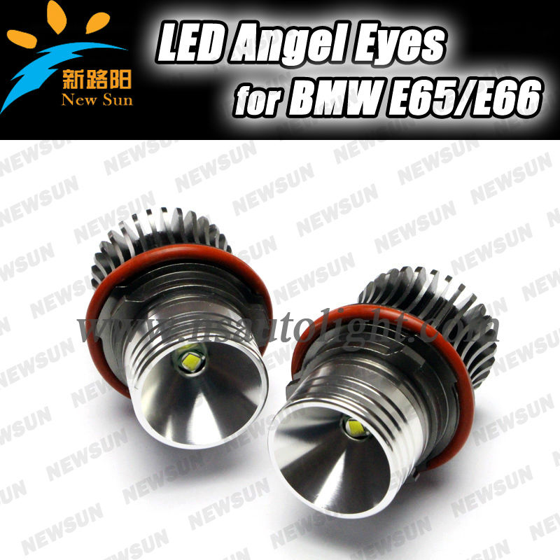 nanjing newsun factory Product e39 high power angel eyes led marker lights 10w cr-ee for bmw