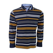 anti-piling long sleeve t shirt stripes polo <strong>design</strong>