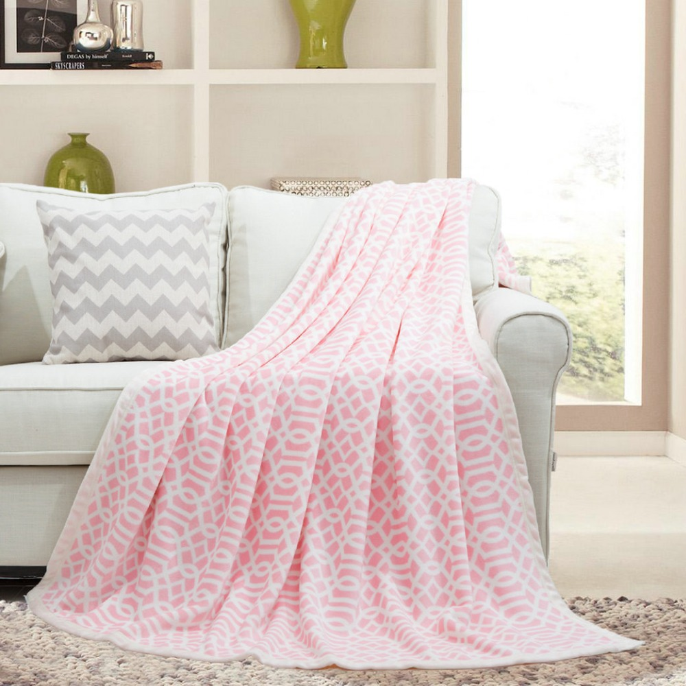 China high quality customize signature blankets
