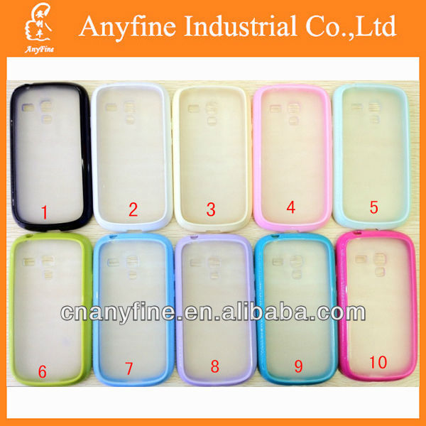 PC+TPU Transparent Hard Case Cover For SAMSUNG GALAXY S3 i9300/i747