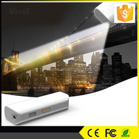With LED Indicator light small size 2600mah power bank for smartphone