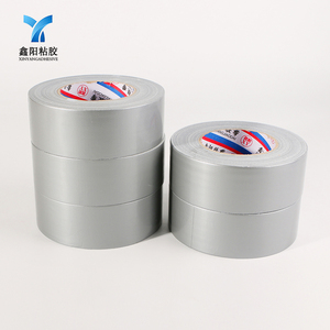 China manufacturers eco friendly offer printing logo silver cheap cloth duct tape jumbo roll