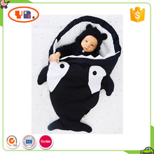 Hot Sale Stroller Footmuff Shark Shape Baby Sleeping Bag Toddler Footmuff