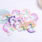 Hot selling kawaii DIY rainbow shape soft clay for phone decoration