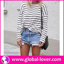 white strapy long sleeve top online shopping for wholesale clothing