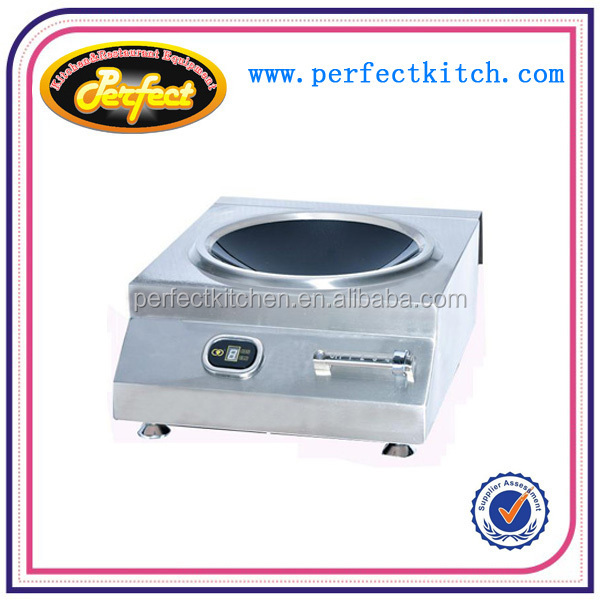 Commerical Tabletop Induction Cooker With Single Wok