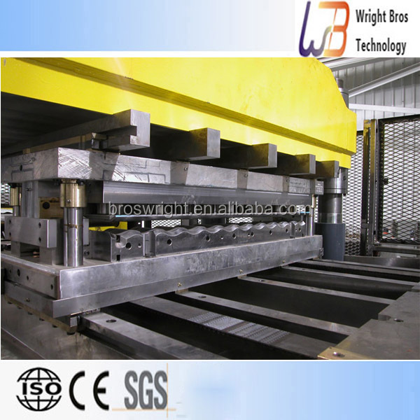 New design,Steel Silo Corrugated Side Panel Roll Forming Machine,Italy standard