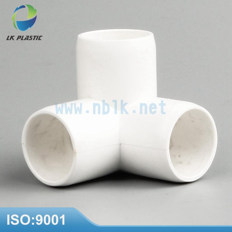 Plastic Shelf Fittings furniture grade pipe fitting