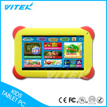 Alibaba Hot Sale Top Quality Oem Acceptable Parent Control Nice Design Colorful Case 7inch Wifi kids tablet pc