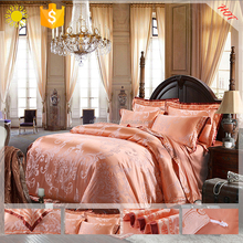 Jacquard Luxurious Silk Bedding Sets Quilt Cover